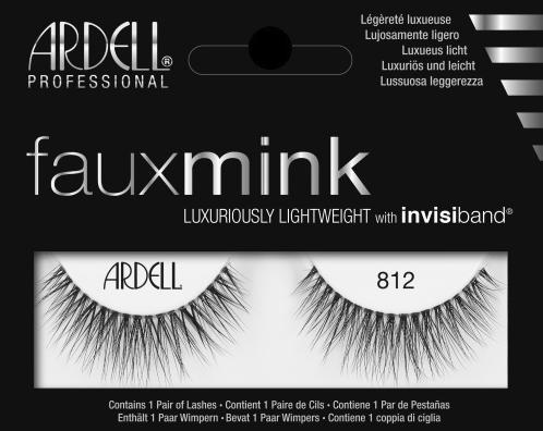 70d55702f85 Ardell Faux Mink 812 (66311) False Eyelashes Lady Moss Beauty