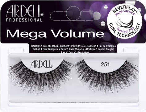 a8e4f24cb1a Ardell Professional Mega Volume 251 3D Lashes Image Picture