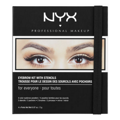 NYX Eyebrow Kit With Stencil (EBKS) Lady Moss Beauty