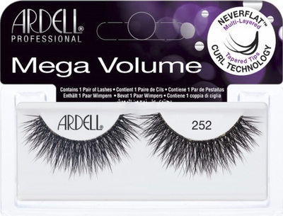 Ardell Professional Pro Mega Volume 252 3D Lashes Image Picture