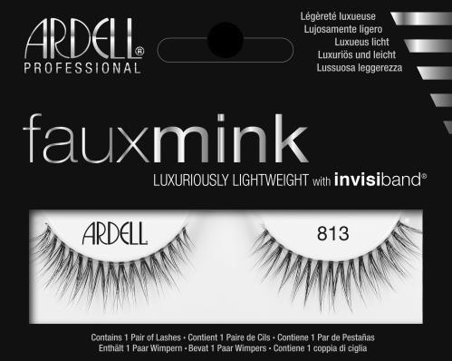 01b5fc7a8ff Ardell Faux Mink 813 (66313) False Eyelashes Lady Moss Beauty