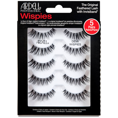 Ardell Pro 5 Pack Demi Wispies False Eyelashes Lady Moss Beauty Picture Image 68980