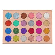 Kara Beauty ES16 - 24 Color Galaxy Stardust Shimmer Glitter Powder Kit