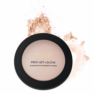 Milani Prep + Set + Glow Illuminating Transparent Face Powder MTSP02 Picture Image Swatch