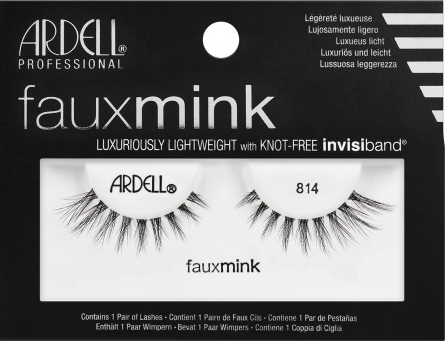 7d33c39fff9 Ardell Faux Mink 814 (60113) False Eyelashes Lady Moss Beauty