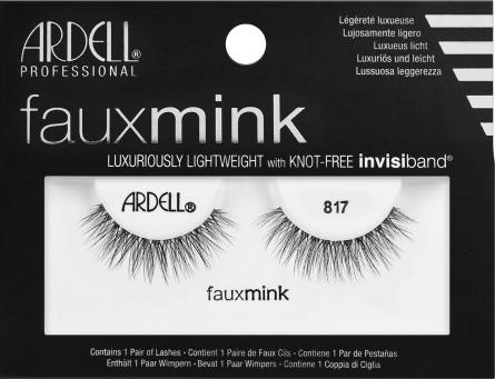 1ce52571125 Ardell Faux Mink 817 60116 False Eyelashes Picture Image LadyMoss