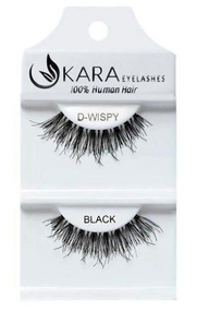 Kara Beauty D-Wispy Human Hair Eyelashes