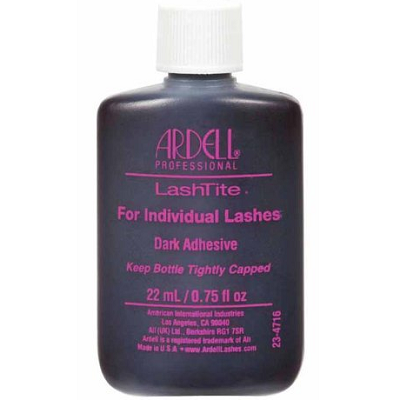 Ardell LashTite Individual Lashes Dark Adhesive 0.75oz (130430) ladymoss.com
