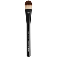 NYX Pro Flat Foundation Brush (PROB07) ladymoss.com lady moss beauty