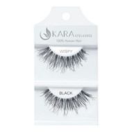 Kara Beauty Wispy Human Hair Eyelashes