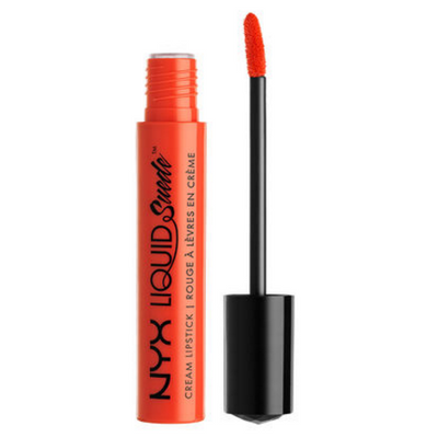 NYX Liquid Suede Cream Lipstick - Orange County (S-LSCL05) ladymoss.com