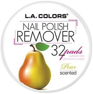 L.A. Colors Scented Polish Remover Pads - Pear (CNRPEAR) ladymoss.com