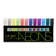 L.A. Girl Beauty Brick Eyeshadow Collection - Neon (GESNEON) ladymoss.com