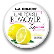 L.A. Colors Scented Polish Remover Pads - Lemon (S-CNRLEMON) ladymoss.com