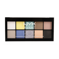 NYX Avant Pop! Shadow Palette APSP Picture Image Swatch
