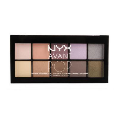 NYX Avant Pop! Shadow Palette APSP Picture Image Swatch