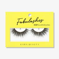 Kara Lashes - A2 Fabulashes 3D Faux Mink Lashes ladymoss.com