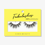 Kara Lashes - A4 Fabulashes 3D Faux Mink Lashes  ladymoss.com