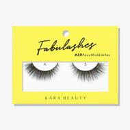 Kara Lashes - A5 Fabulashes 3D Faux Mink Lashes ladymoss.com
