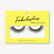 Kara Lashes - A9 Fabulashes 3D Faux Mink Lashes ladymoss.com