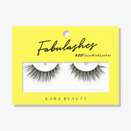Kara Beauty A51 Fabulashes 3D Faux Mink Lashes