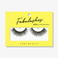 Kara Lashes - A52 Fabulashes 3D Faux Mink Lashes ladymoss.com