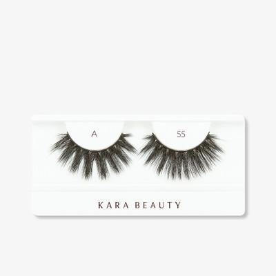 Kara Lashes - A55 Fabulashes 3D Faux Mink Lashes ladymoss.com