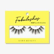 Kara Lashes - A59 Fabulashes 3D Faux Mink Lashes ladymoss.com
