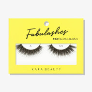 Kara Lashes - A129 Fabulashes 3D Faux Mink Lashes ladymoss.com
