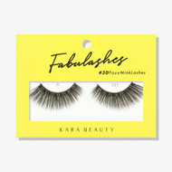 Kara Lashes - A131 Fabulashes 3D Faux Mink Lashes ladymoss.com