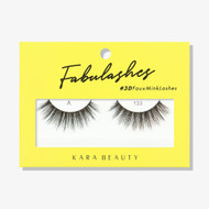 Kara Lashes - A133 Fabulashes 3D Faux Mink Lashes ladymoss.com