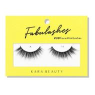 Kara 3D Faux Mink Lashes - A11 ladymoss.com