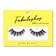 Kara 3D Faux Mink Lashes - A13 ladymoss.com