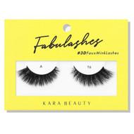 Kara 3D Faux Mink Lashes - A16 ladymoss.com