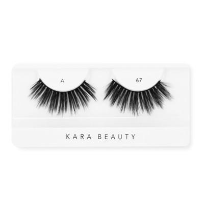 Kara 3D Faux Mink Lashes - A67 ladymoss.com
