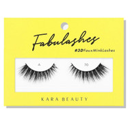 Kara Beauty A70 Fabulashes 3D Faux Mink Lashes