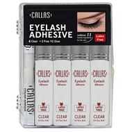 Callas Eyelash Adhesive Clear 4 Pack Set ladymoss.com