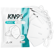 KN95 Face Mask 5-Layer | CE/ECM Certified | GB2626 Standard | 5 Pack ladymoss.com