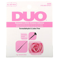 Duo Rosewater & Biotin Striplash Adhesive - Dark