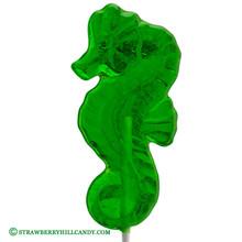 Clear Seahorse Lollipop
