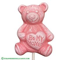 """Be My Honey"" Bear Lollipop"