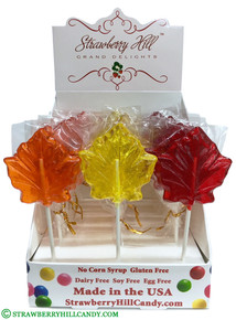 Assorted Fall Leaf Lollipop