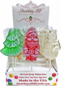 Assorted Christmas Lollipops