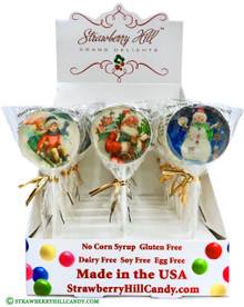 Vintage Christmas Lollipops