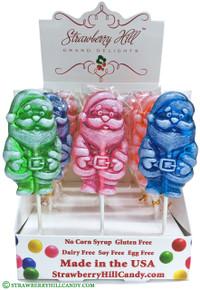 Assorted Santa Claus Lollipop