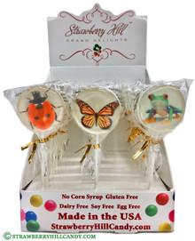 Ladybug Frog & Butterfly Spring Lollipops
