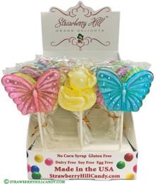 Spring Butterfly & Ducky Lollipop