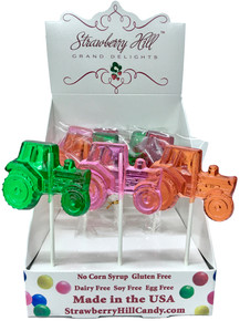 Farm Tractor Lollipop