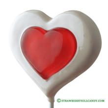 Double Heart Lollipop