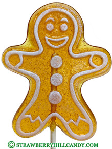 Gingerbread Man Lollipop